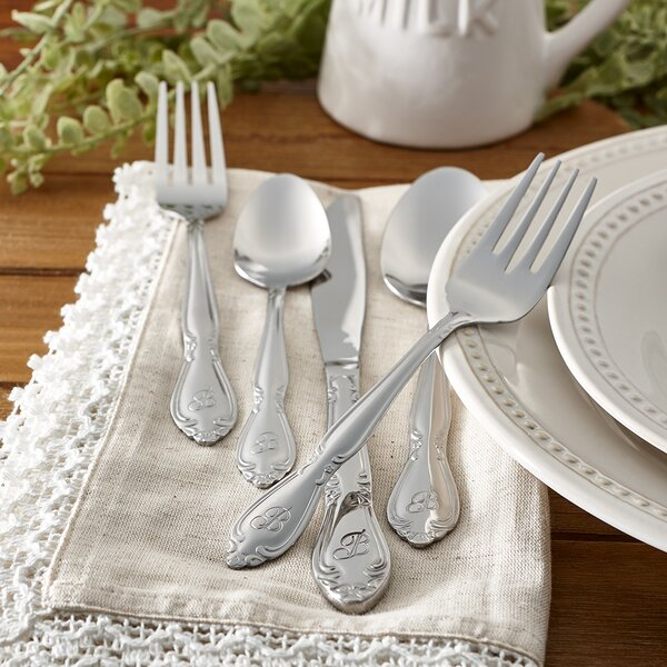 Tyree 46 Piece Flatware Set Service for 8 by Charlton Home