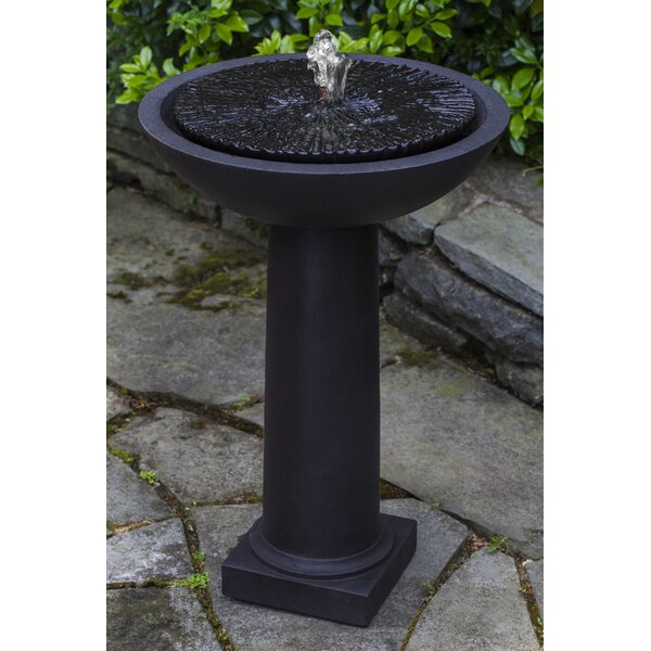 Equinox Birdbath Fountain by Campania International