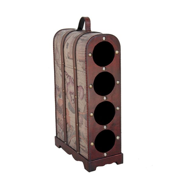 Bellbrook 4 Bottle Floor Wine Bottle Rack by Fleur De Lis Living Fleur De Lis Living