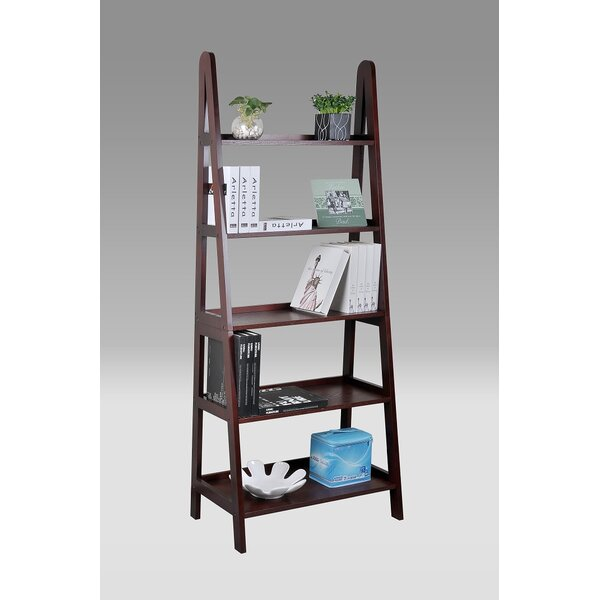 Lisa-Marie Ladder Bookcase By Winston Porter