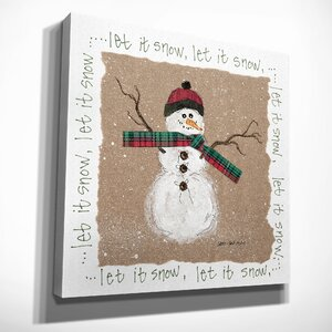 'Snowman' Painting Print on Wrapped Canvas by The Holiday Aisle