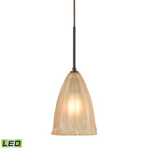 Mejorado 1-Light Cone Pendant by Bay Isle Home