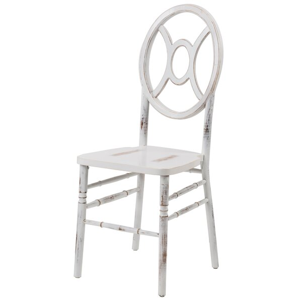 Reyna Twin Solid Wood Dining Chair by Mistana