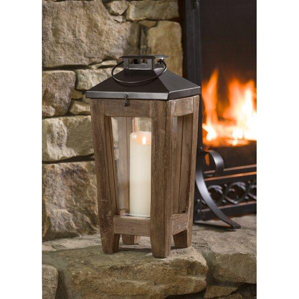 Reclaimed Wood Lantern by Plow & Hearth