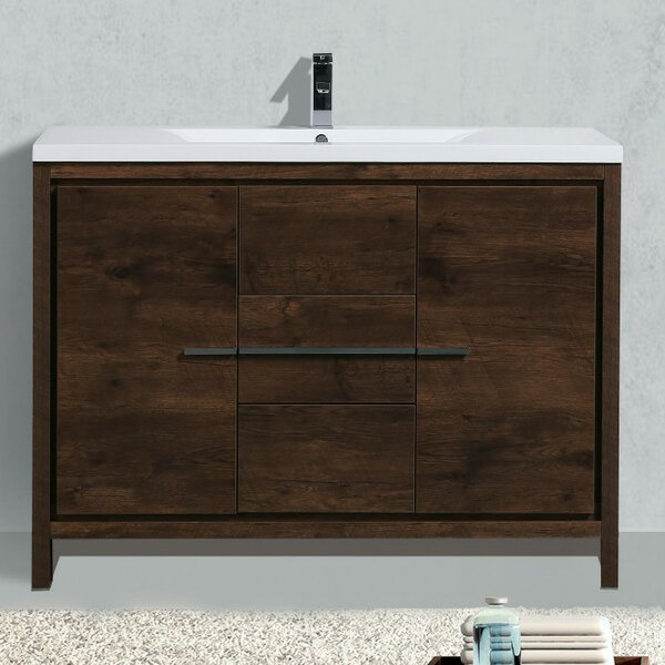 Almendarez 47 Single Bathroom Vanity Set by Langley Street