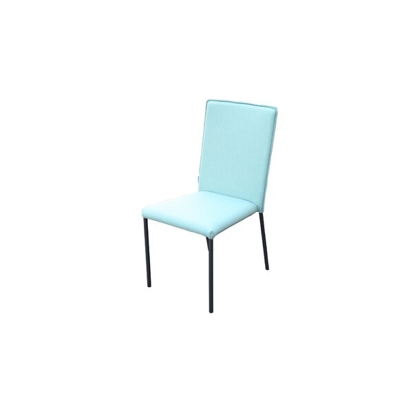 Merkley Stacking Patio Dining Chair (Set of 4) by Latitude Run