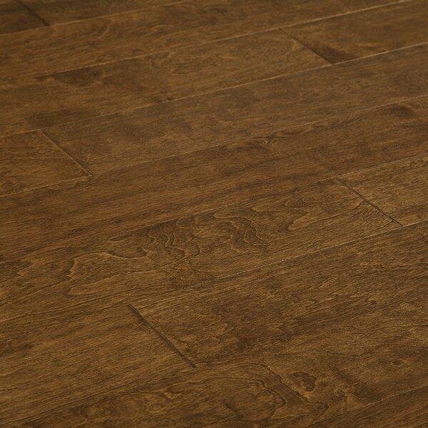 Truss 5 Engineered Birch Hardwood Flooring in Dark Brown by Millwood Pines