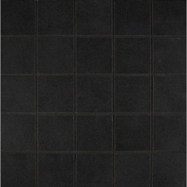 Studio 12 x 12 Porcelain Mosaic Tile in Midnight by Grayson Martin