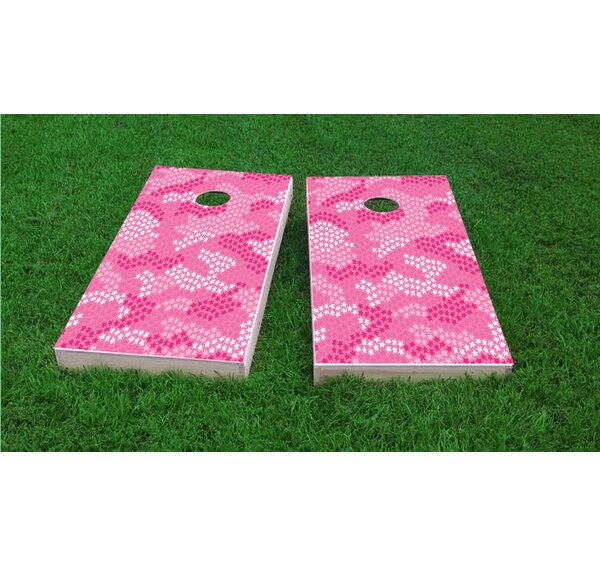 Stars Camo Cornhole Game Set by Custom Cornhole Boards