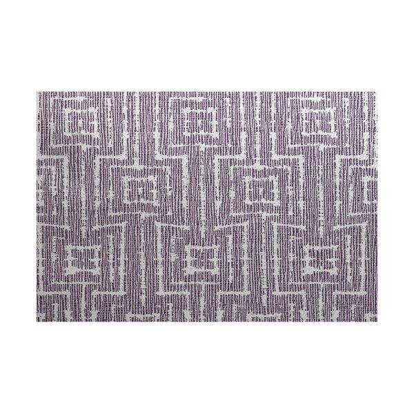 Thirlby Purple Indoor/Outdoor Area Rug by Beachcrest Home