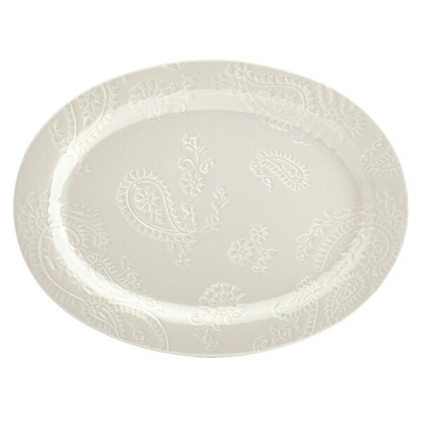 Paisley Vine 14 Oval Platter by BonJour