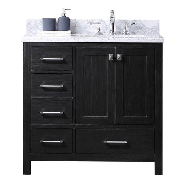Hamden 35 Single Bathroom Vanity Set with Mirror by Greyleigh