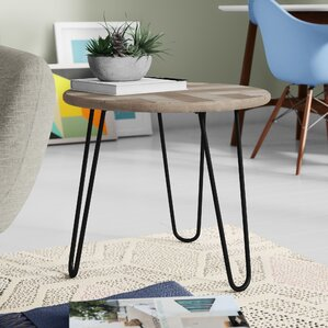 Fionn End Table by Union Rustic