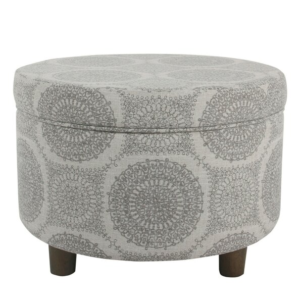 Mettler Storage Ottoman by Bungalow Rose