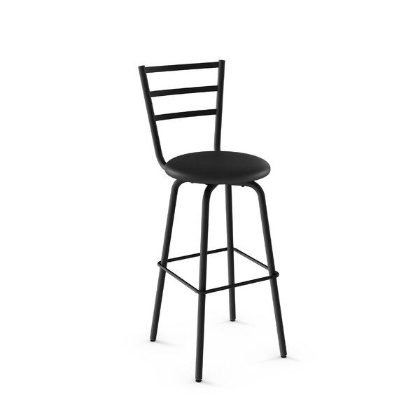 Sandy 30.5 Swivel Bar Stool by Amisco