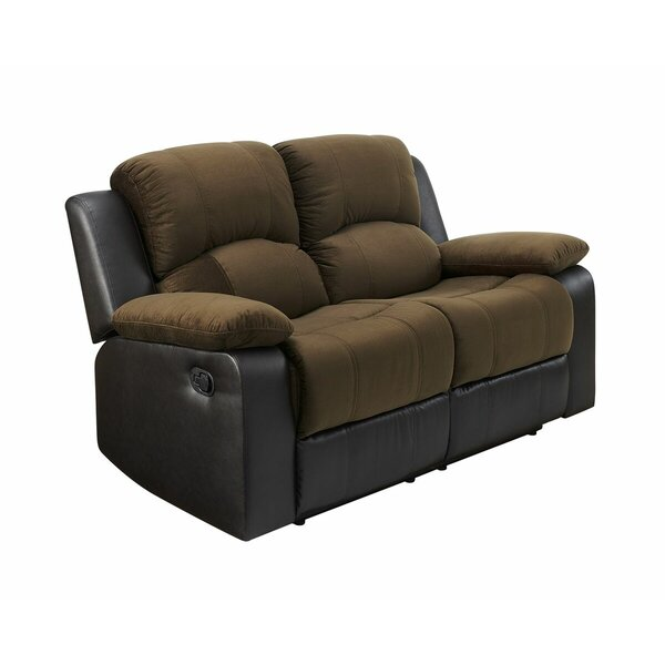 Ethel Reclining Loveseat by Winston Porter