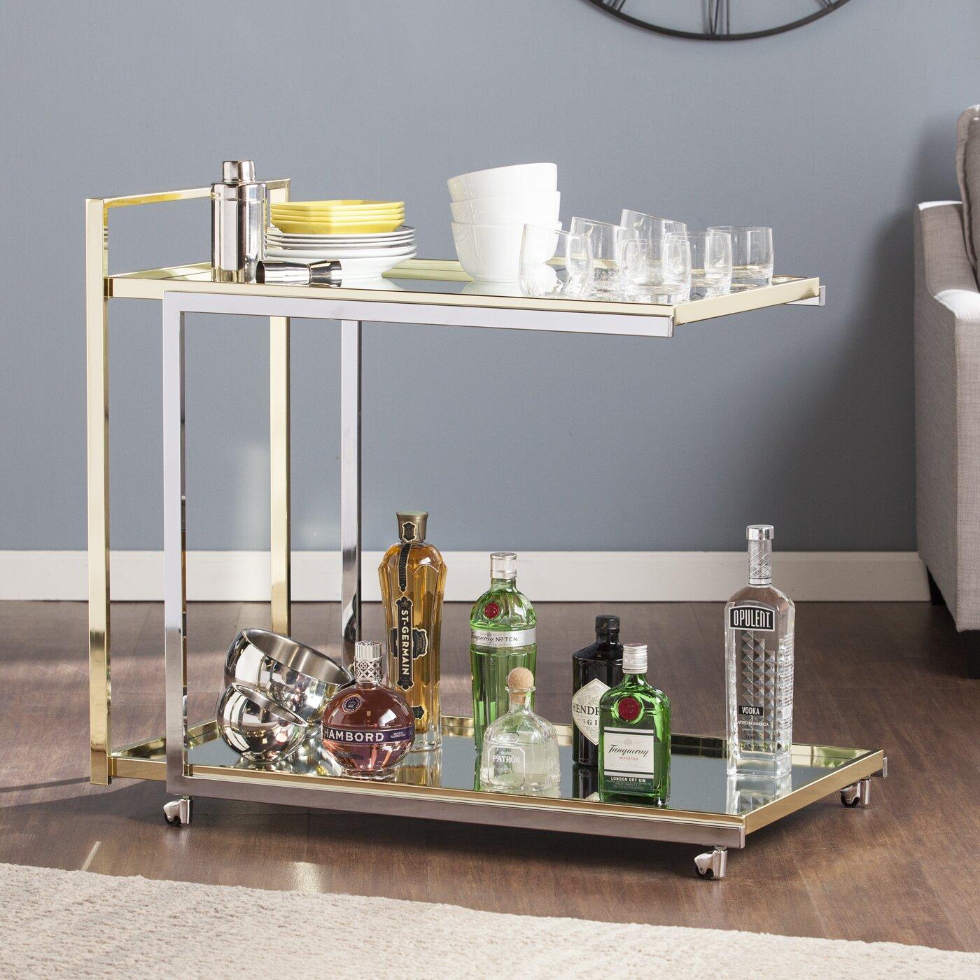 Willa arlo interiors lamberry bar cart reviews - Willa arlo interiors keeley bar cart ...