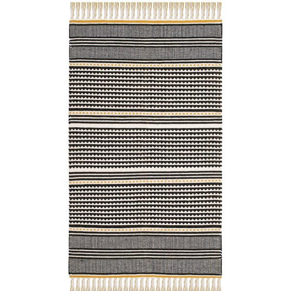 Granada Hand-Woven Gold/Gray Area Rug by Wrought Studio