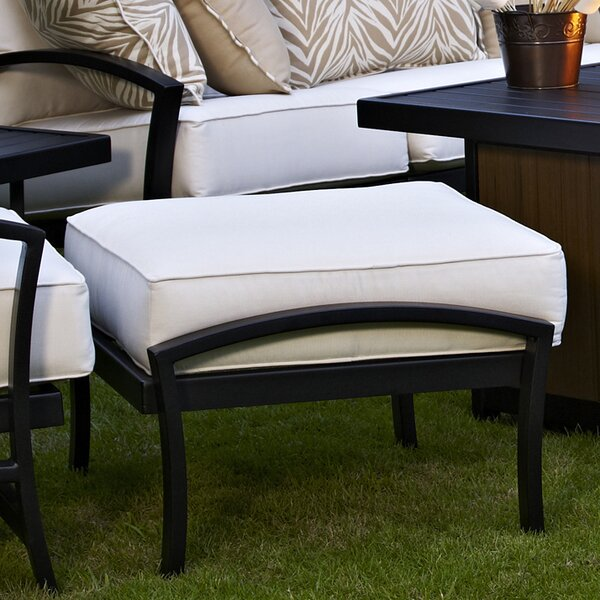 Millom Ottoman with Cushion by Canora Grey