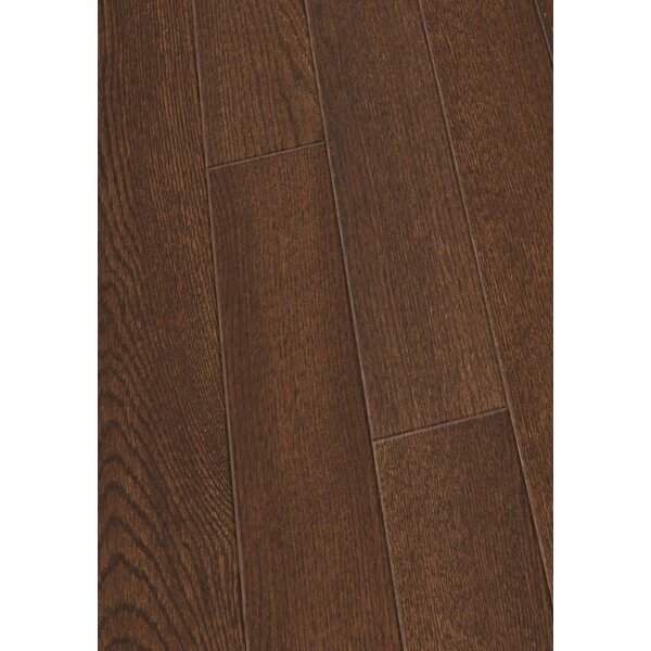 5 Engineered Oak Hardwood Flooring in Brushed Mocha by Maritime Hardwood Floors
