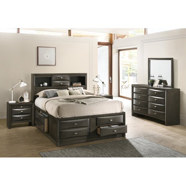 Carle Platform 4 Piece Bedroom Set by Red Barrel Studio