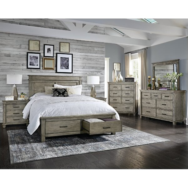Sayler Storage Platform Configurable Bedroom Set by Gracie Oaks