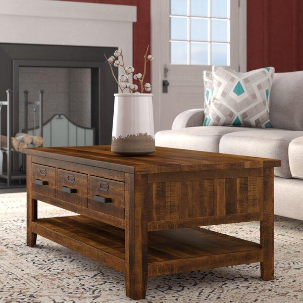 Tuntange Coffee Table With Storage By Mistana