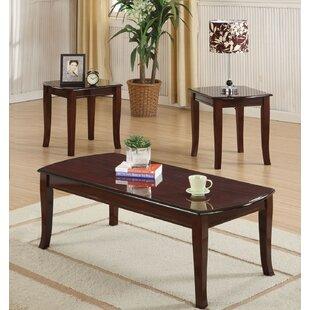 Parlington 3 Piece Coffee Table Set Charlton Home