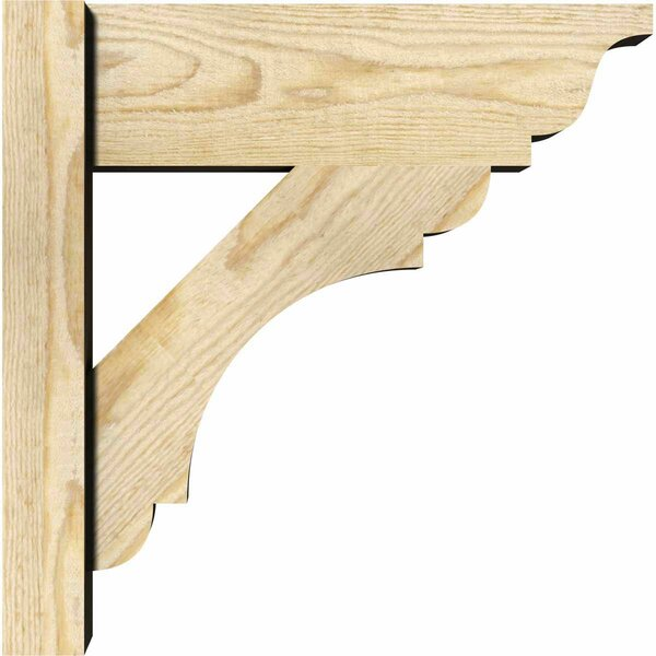 Olympic Rustic Wood Outlooker Bracket by Ekena Millwork