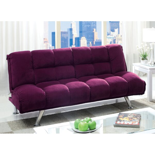 Oberon Corduroy Convertible Sofa by Hokku Designs