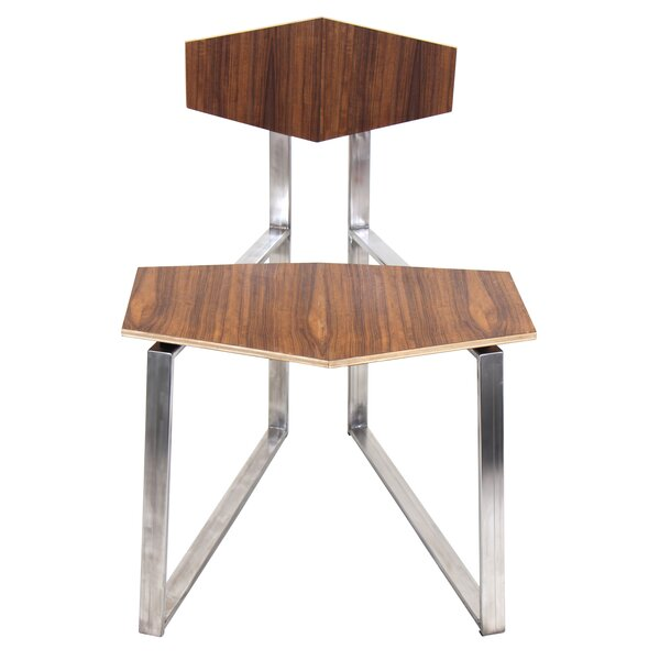 Trevino Solid Wood Dining Chair (Set of 2) by Union Rustic