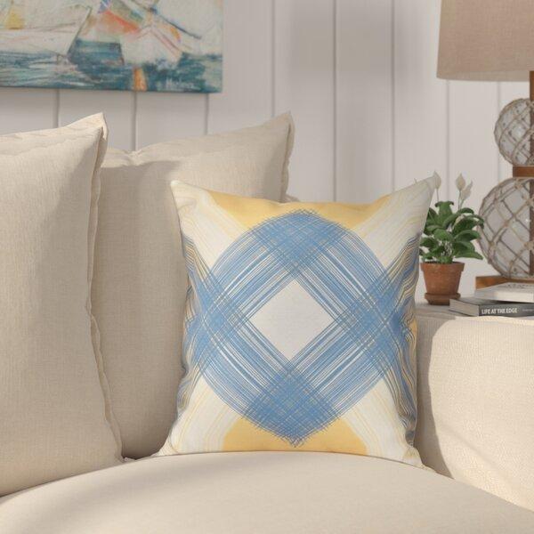 Hancock String Art Geometric Print Outdoor Throw Pillow by Breakwater Bay