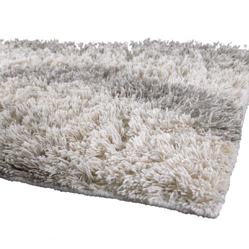 Strata White Area Rug by Chandra Rugs