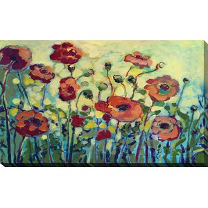 Anitas Poppies by Jennifer Lommers Painting Print on Wrapped Canvas by Picture Perfect International