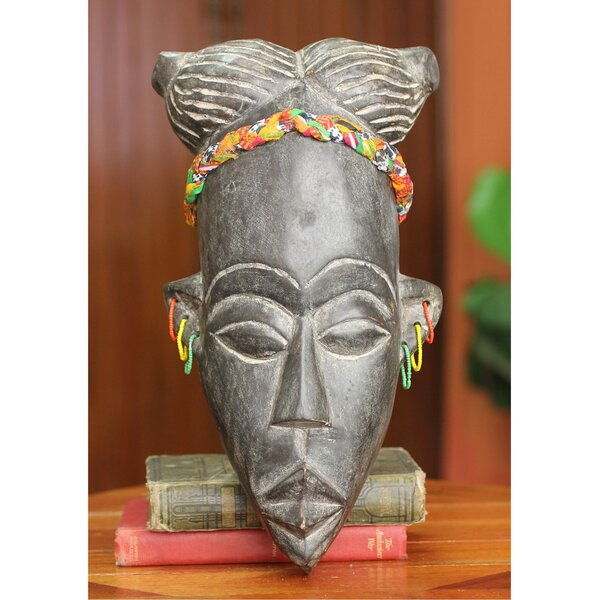 Winfred Korley Handmade African Mask Wall Decor by Novica