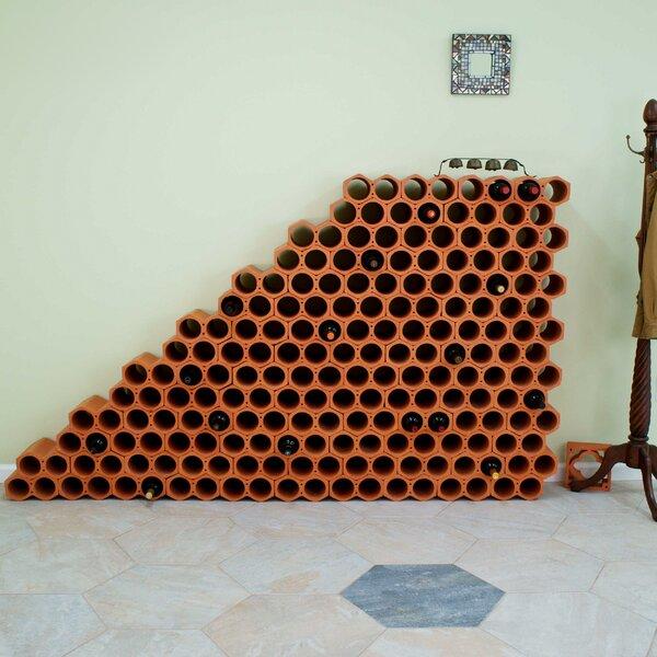 Botella 48 Bottle Wall Mounted Wine Rack (Set Of 24) By EliteTile by EliteTile Modern