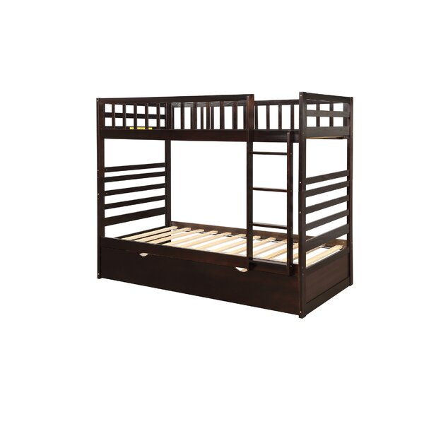 Atha Twin Over Twin Bunk Bed With Trundle By Isabelle & Max™