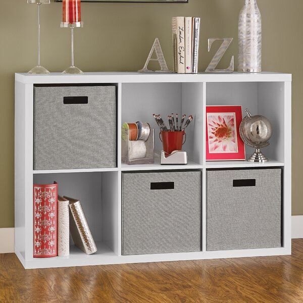 Decorative Storage Cube Unit Bookcase by ClosetMaidDecorative Storage Cube Unit Bookcase by ClosetMaid
