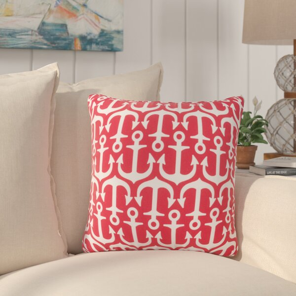 Sweetwood Traditional Anchor Indoor/Outdoor Throw Pillow