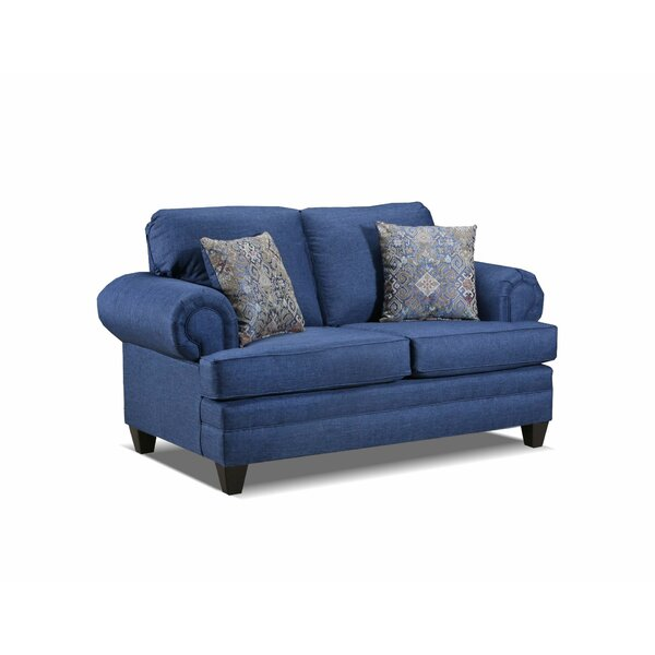 Berryhill 65'' Rolled Arm Loveseat By Alcott Hill®