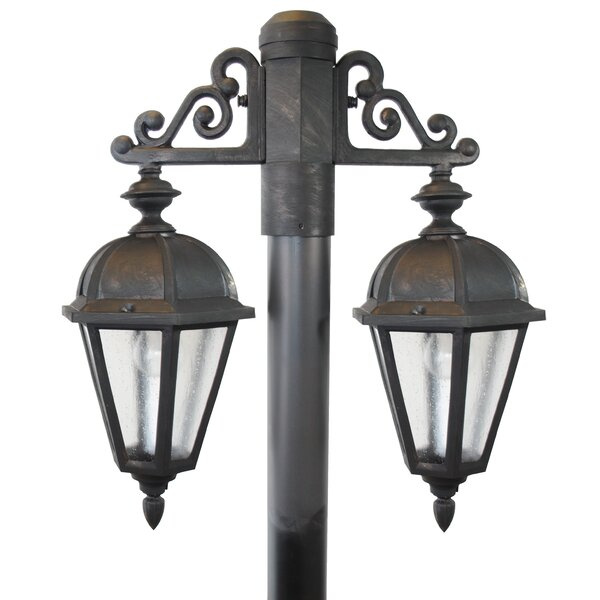 Flemings 2-Light Lantern Head by Darby Home Co