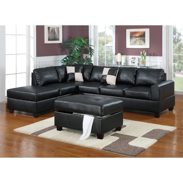 Tamra 112 Left Hand Facing Sectional With Ottoman By Ivy Bronx