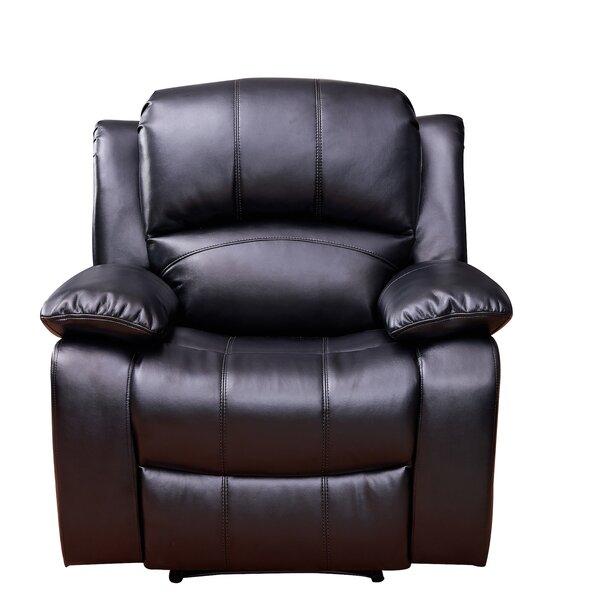 Gira Leather Manual Recliner [Red Barrel Studio]
