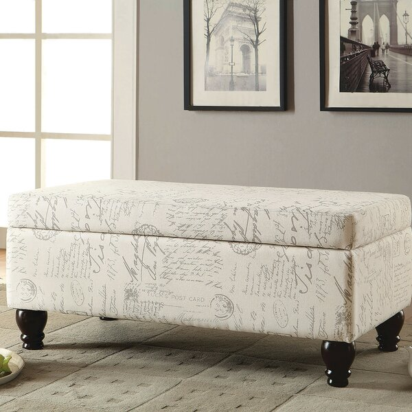Cartwright Upholstered Storage Bench by One Allium Way