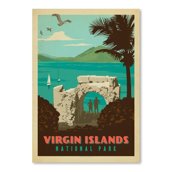 Virgin Islands National Park Vintage Advertisement by East Urban Home