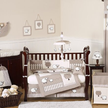 Little Lamb 9 Piece Crib Bedding Set by Sweet Jojo Designs