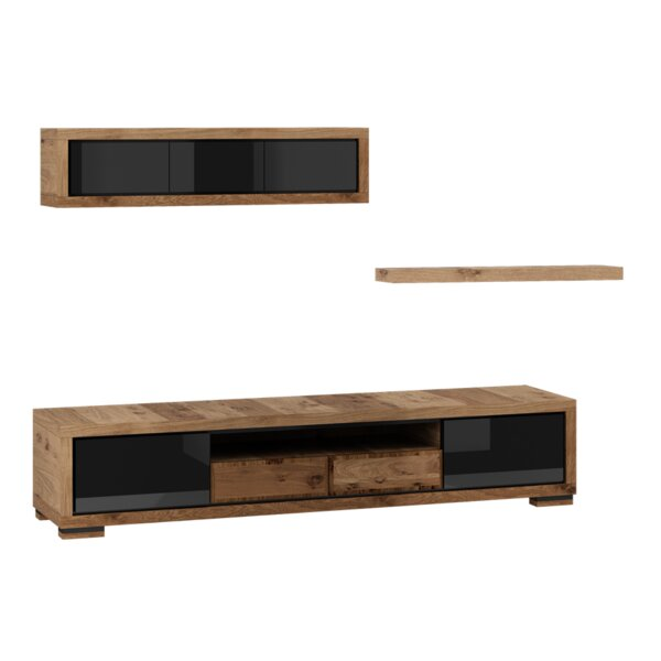 Ardent 3 Piece Entertainment Center Set by Foundry Select