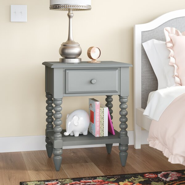 Aoife 1 Drawer Nightstand by Mistana