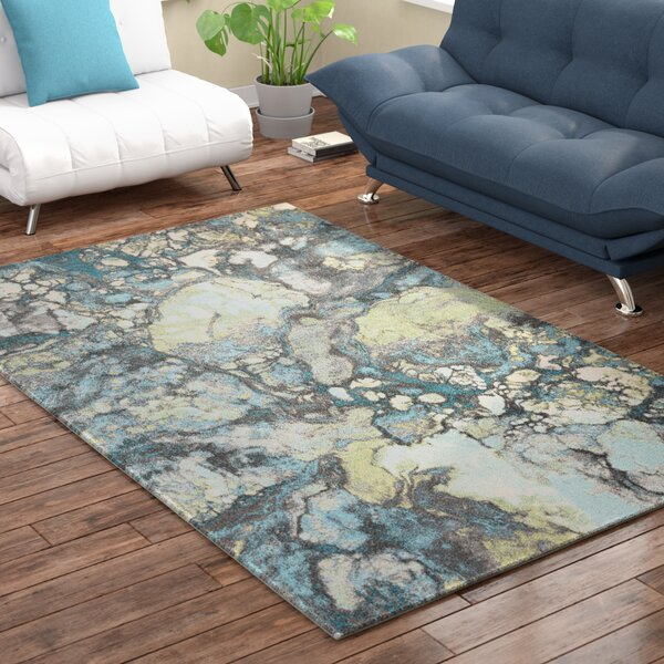 Chastain Grey Area Rug by Latitude Run