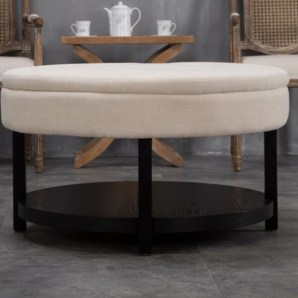 Alsatia Cocktail Ottoman by Darby Home Co